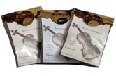 Strad Pad Violin Chinrest Covers
