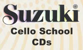 Suzuki Cello School CDs
