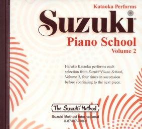 Suzuki Piano School - CD Volume 2 - Kataoka