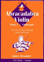 Abracadabra Violin - Book 2 - Violin Part
