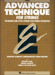 Advanced Technique for Strings - Studies for String Orchestra