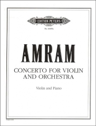 Amram - Concerto for Violin and Orchestra