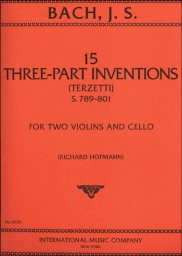 15 Three-Part Inventions (Terzetti), S.789-801