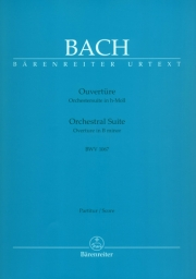 Bach - Orchestral Suite - Overture in B minor - BWV 1067