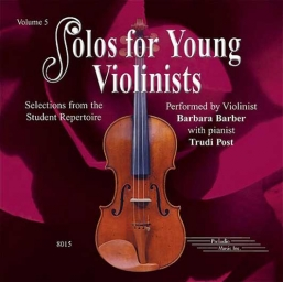 Solos for Young Violinists CD, Volume 5