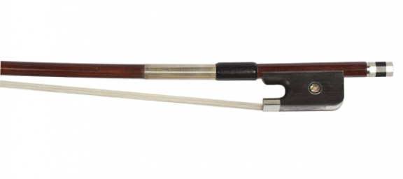 Brazilian Bows Nickel Mounted Cello Bow - 1/2