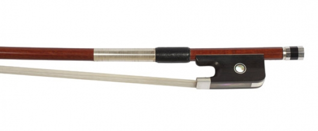 Brazilian Silver Mounted Cello Bow - 1/2