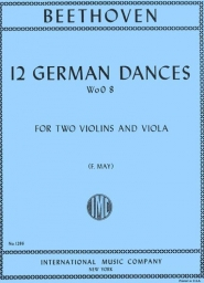 12 German Dances, WoO 8 - Parts