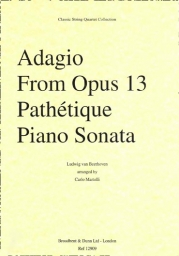 Adagio from Op. 13 Pathétique Piano Sonata