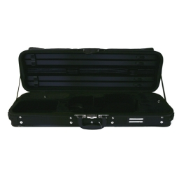 Gewa Violin Oblong Case Diagonale - 4/4 - Black/Green