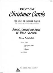 Twenty-Five Christmas Carols - Violin II