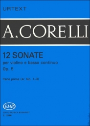 12 Sonate  Op. 5 - Vol. 1