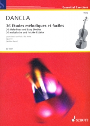 36 Melodious and Easy Studies for Viola, Op. 84