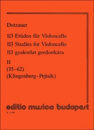 113 Studies for Violoncello - Vol. 2