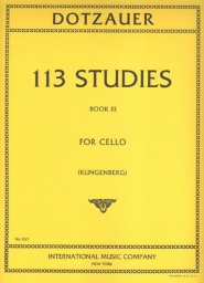 113 Studies for Cello Solo - Book III
