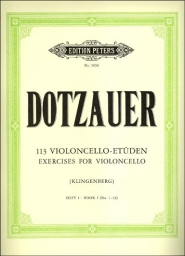 113 Exercises for Violoncello - Book I (No.1-34)