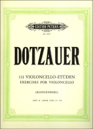 113 Exercises for Violoncello - Book II (No.35-62)