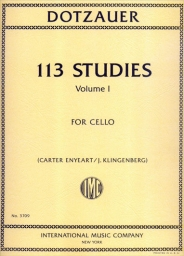 113 Studies for Cello Vol. 1