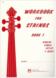 Workbook for Strings Book 1 - Bass