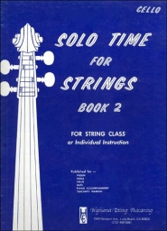 Solo Time for Strings (Cello) - Book 2