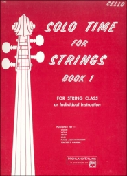 Solo Time for Strings - Book 1