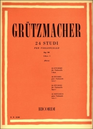 24 Studies for Violoncello Op.38 - Book I