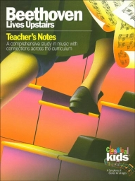 Classical Kids Teacher Book - Beethoven Lives Upstairs