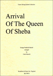 Arrival Of The Queen Of Sheeba