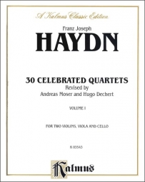 30 Celebrated Quartets, Vol 1