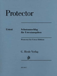 Protector for Henle Urtext Editions