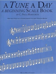 A Tune A Day  - Beginning Scale Book