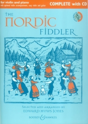 The Nordic Fiddler for Violin and Piano - CD