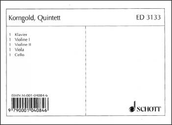 Suzuki String Quintet In E Major