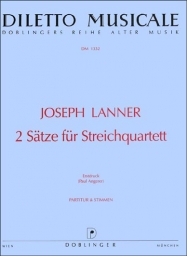 2 Pieces for String Quartet (Score & Parts)