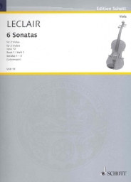 6 Sonatas for 2 Violas