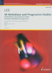 40 Melodious and Progressive Studies