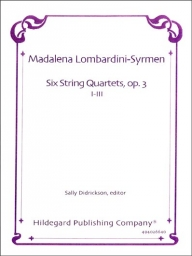 6 String Quartets Op. 3, Vol. I (1-3)