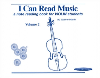 I Can Read Music - Violin - Volume 2