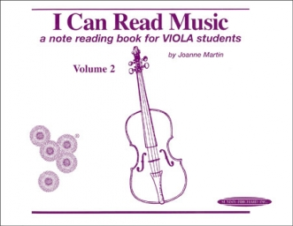 I Can Read Music - Viola - Volume 2