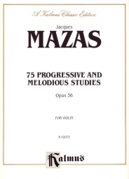 75 Progressive and Melodious Studies Op. 36