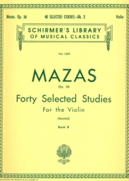40 Selected Studies Op. 36 - Book 2