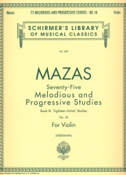 75 Melodious and Progressive Studies Op. 36 - Book 3