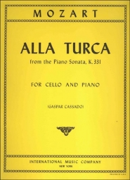 Alla Turca from the Piano Sonata, K. 331