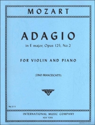 Adagio in E major, Op. 125 No. 2