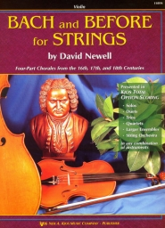Bach and Before for Strings