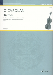 16 Trios for String Trio