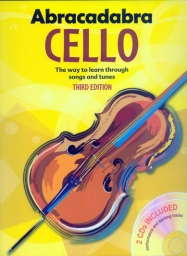 Abracadabra Cello - Book/ 2 CD