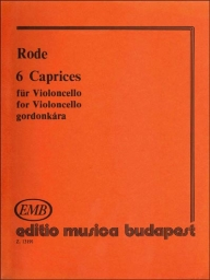 6 Caprices for Violoncello