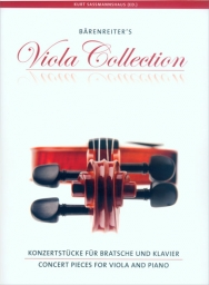 Concert Pieces for Viola and Piano