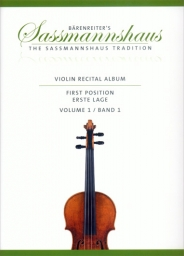 Violin Recital Album - First Position - Vol 1